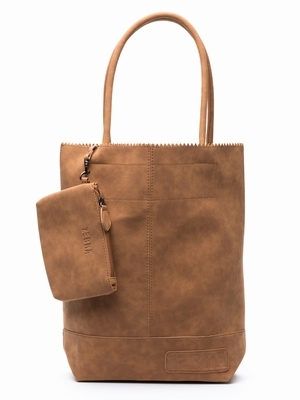 Zebra Trends Natural Bag Kartel Suedines - Camel