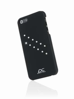 iPhone 5 hoes Diamond Cover Flash Zwart