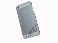 iPhone 5 hoes Diamond Cover Comet Transparant