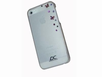 iPhone 5 hoes Diamond Cover SkyTransparant
