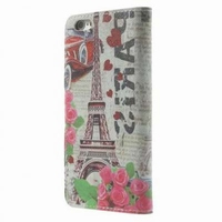 MW Wallet Book Case Paris Eiffel Tower voor Apple iPhone 6
